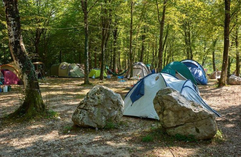 Campingplatz in Slowenien