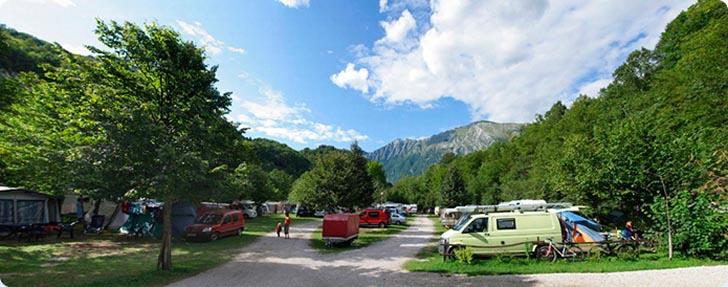 Eco camping Kobarid